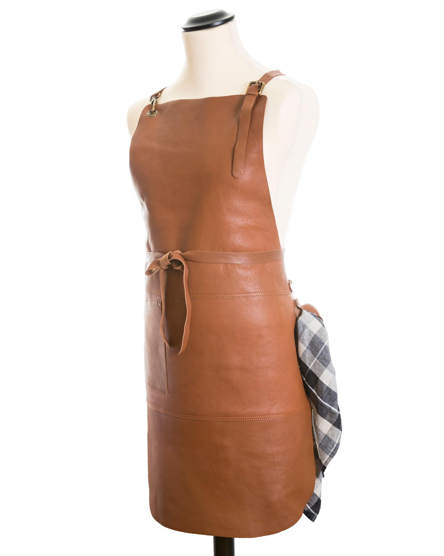 Läderförkläde Paul ~ Gentlemanshop 7a4f5900b3eae